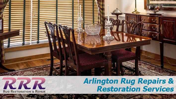 Arlington Rug Repairs and Restoration Services