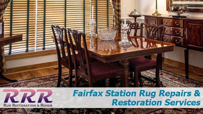 Fairfax Station Rug Repairs and Restoration Services