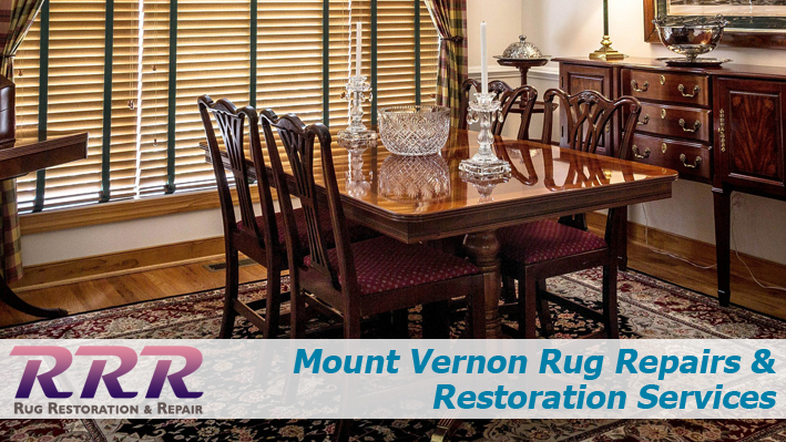 Mount Vernon Rug Repairs and Restoration Services